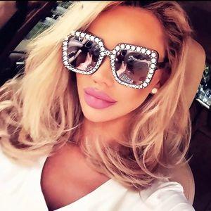 Accessories - Large Black Sunglasses